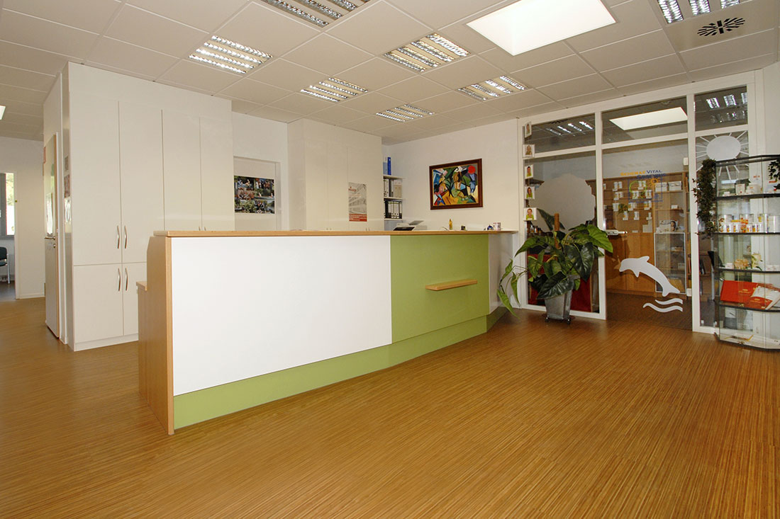 Empfang - Dr. Scherat - Praxis - Hausarzt Murrhardt